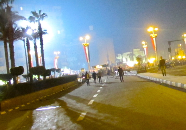 エジプト タハリール広場 デモ