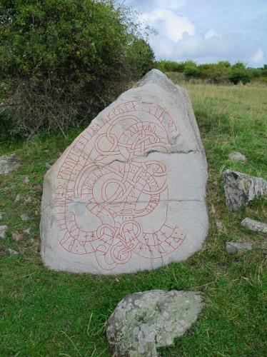 ホーヴゴーデン ルーンの石