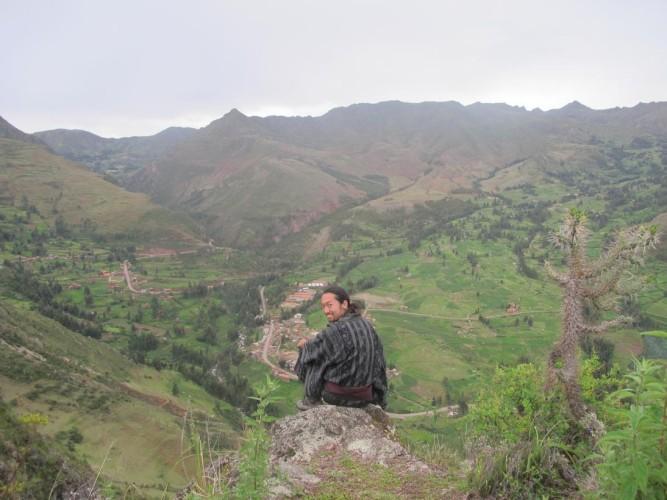 和服 ペルー