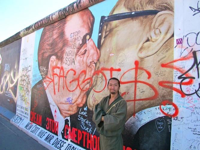 ベルリンの壁 和服