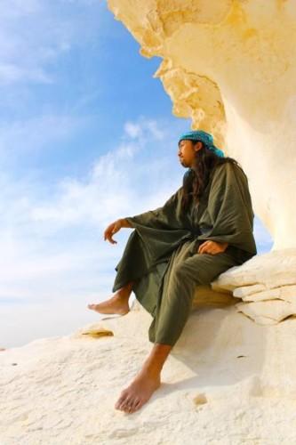 白砂漠 和服